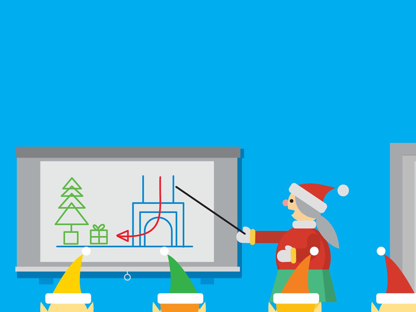 Mrs. Claus' Briefing — Google Santa Tracker