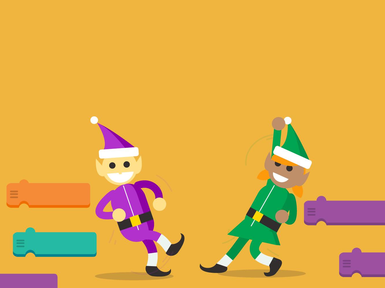 code boogie google santa tracker