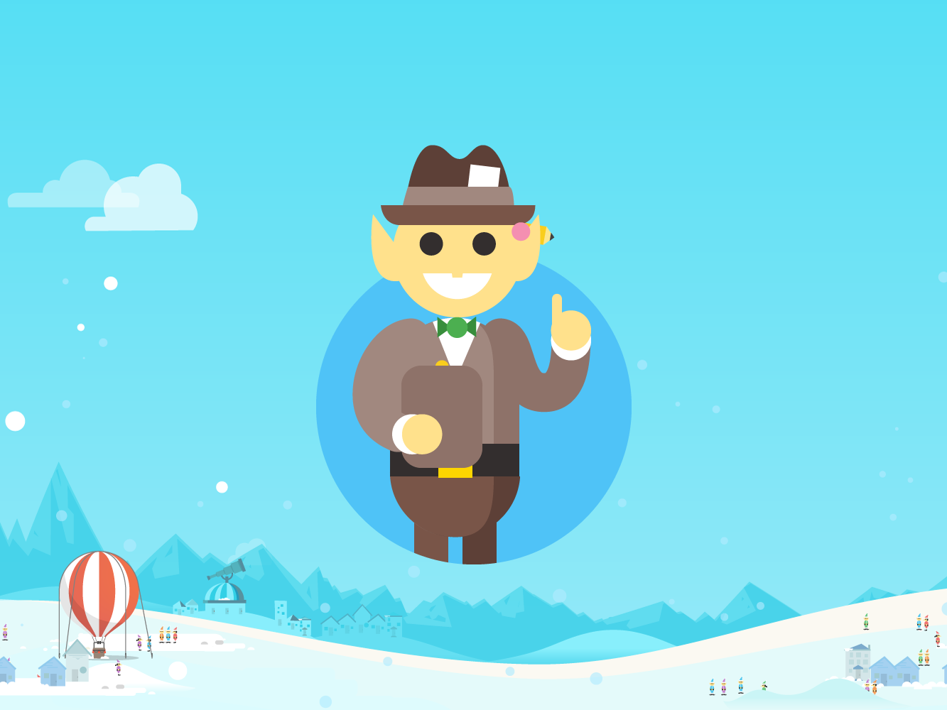 press google santa tracker