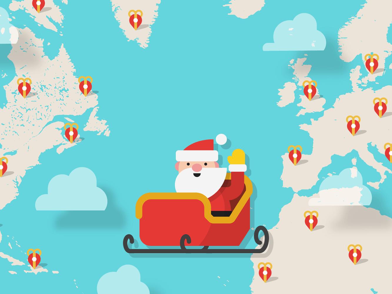 Track Santa — Google Santa Tracker